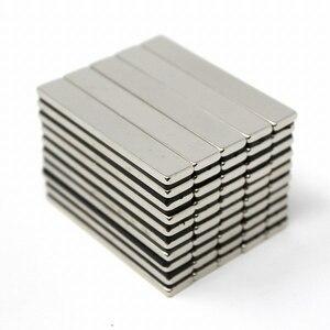 «В10-А2» неодимовый магнит 60 х 10 х 3 мм 50 штук Набор неодимовый магнит Бар Бар Уголок-типа Мощный Купить