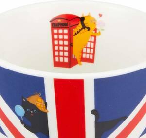 ★お買い得★マグカップ★猫 ★国旗 ★イギリス★13107★マグ