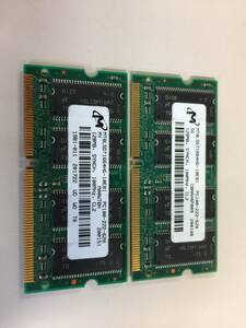 secondhand goods MICRON DIMM PC-100 256MB(128M*2) present condition goods