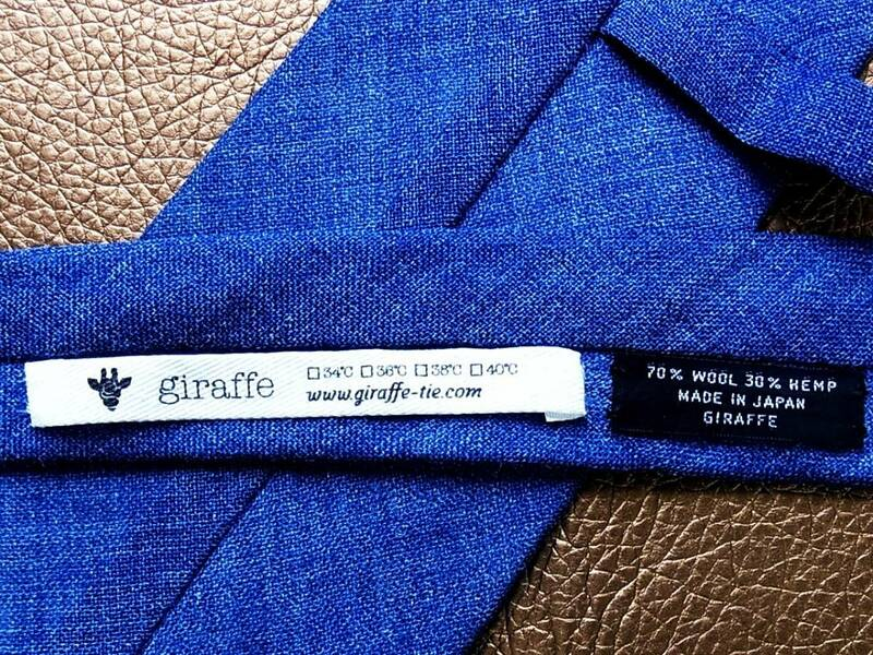 ★*:.*:【ニットタイ】0259美品★ジラフ【giraffe】 最高級ネクタイ