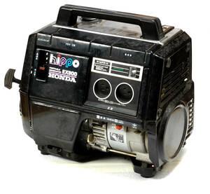 [Vintage] [Rare Color?][Immovable] [Delivery Free]Around1990 HONDA HIPPO(Series) PORTABLE GENERATOR EX900 BLACK(color) [tag6666]