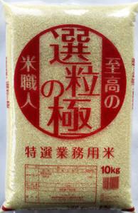 新米 令和3年産 特選業務用米 選粒の極10Kg