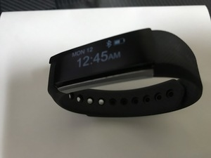 [ not for sale ][ valuable goods ] Smart bracele MoreFit Slim multifunction smart watch action amount total pedometer wristwatch type