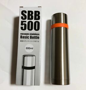 新品 真空ステンレスボトル 500ml