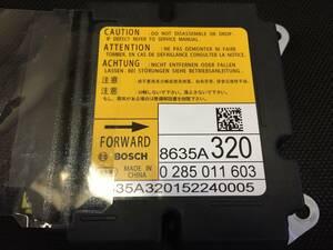 Mitsubishi  8635A457  подушка безопасности   компьютер  ECU  ремонт  делаю.  гарантия  может   Воздушный назад  AB2915