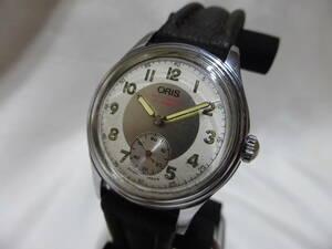 ORIS☆オリス 手巻き スモセコ ボーイズ 腕時計 7312☆