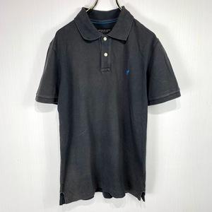 Americaneagle アメリカンイーグル 半袖 ポロシャツ グレー XSサイズ ワンポイント