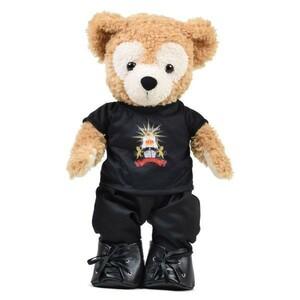 [636a] TVXQ Tomorrow トモコン Tシャツ 黒 43cm Sサイズ TOH ダッフィー シェリーメイ用 衣装 ハンドメイドコスチューム