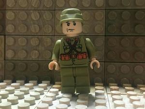 カスタム ミニフィグ ☆ レゴ LEGO サイズ ☆ 太平洋戦争 日本軍兵士 Japan Military Army Soldiers ☆ (武器のおまけ付き) ☆ 新品