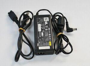 中古★NEC ACアダプター ADP62 ADP-60JH PC-VP-BP20 15V 4A★