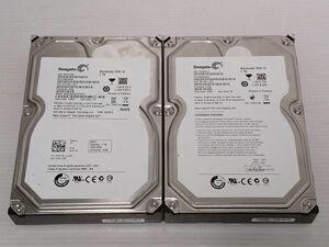 ★ジャンク品★SEAGATE(シーゲイト) ハードディスク HDD ST31000524AS ST31000528AS 1Tx2 3.5インチ ★計2枚★