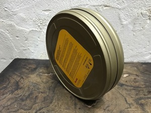 Kodakフィルム35mm缶 400feet4745 灰皿中古装飾レトロアンティークビンテージモダンスチームパンクパーツ16昭和の映像プロダクション希少