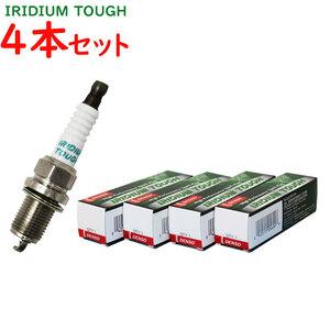 送料無料 デンソー イリジウムタフプラグ 三菱 パジェロイオ 型式H61W/H66W/H71W/H76W用 VKA16(V91105622) 4本セット