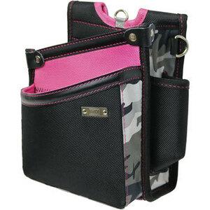9◆未使用◆KH/基陽◆限定カラー!◆サクラウエストバッグ(腰袋)◆GE1514P◆さくら柄ピンク×迷彩 カモフラ◆工具袋/道具袋◆超軽量◆
