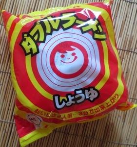 東洋水産 ダブルラーメンしょうゆ味 懐かしの味 切手可  ご当地 北海道限定