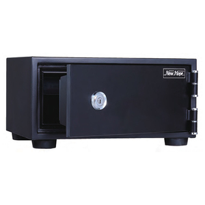 * new goods safe 18kg 9L HSB-18S fire-proof safe 1 key type hotel safety box disaster prevention crime prevention valuable goods inserting * including carriage