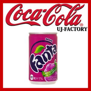 ★コカ・コーラ 社★ファンタグレープ 160ml缶/1ケース/30缶