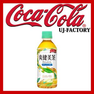 ★コカ・コーラ 社★爽健美茶 (そうけんびちゃ)300mlPET(ペットボトル)1ケース/24本