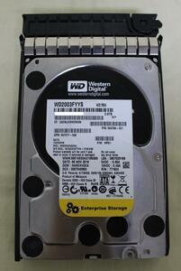 WD WD2003FYYS 7200rpm 3.5 -inch SATA 2.0TB
