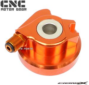 [高品質]CNC削出スピードメーターギヤ橙 シグナスX 1型[国内5UA/台湾5TY/SE12J]シグナスX 2型[国内28S/台湾4C6/1CJ/SE44J]5UA-F5190-00互換