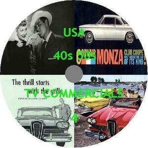 歴史的アメリカテレビコマーシャル動画映像集DVD4煙草車ガソリンビンテージヴィンテージ古イラストphotoshopフェイスブックインスタグラム