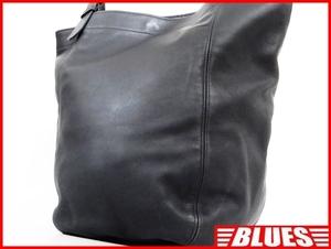 即決★COACH★オールレザートートバッグ オールドコーチ メンズ 濃紺 ネイビー 本革 ハンドバッグ 本皮 かばん 通勤 カバン 鞄 レディース