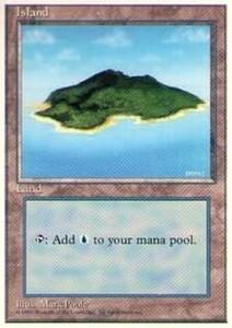 010369-002 第4版/4E/4ED/4TH 基本土地 島/Island(3) 英1枚