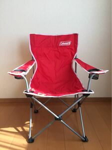 Coleman ARMチェアII RED