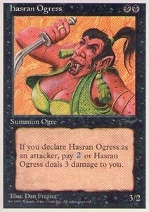 012111-002 CH/CHR ハスランの女オーガ/Hasran Ogress 英2枚