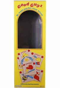 チャイルドプレイ グッドガイズ ドール スクリーン Accurate ボックス レプリカ child's play good guys chucky box 箱 正規品 チャッキー
