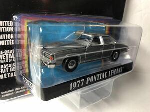 """グリーンライト 1/64 1977 ポンティアック ルマン Greenlight 1/64 1977 Pontiac LeMans Gray """"The A-Team"""""""