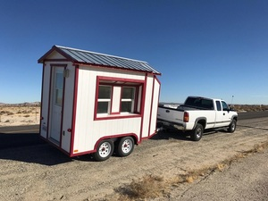 * price cut! immediately delivery! Mini house trailer camping trailer movement sales store shop trailer house America product