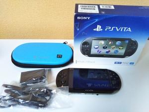 PS VITA PCH-2000 ブラック 本体 中古 ケース 8GBメモリーカード付