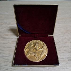 【送料無料】1964年東京オリンピック 日本陸上競技後援会記念メダル