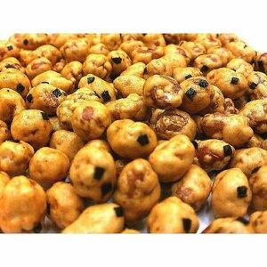 醤油味ピーナッツ 4kg チャック袋 500gX8袋 九州工場製造品 黒田屋