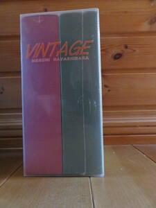 林原めぐみ 初回限定盤 VINTAGE スリーブケース付き CDとVHSは未開封