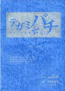 E21100AR script tegami chopsticks [ no. 15 story ]