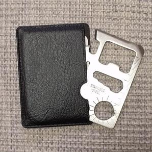 処分品 10個セット カード型マルチツール アウトドア 災害対策