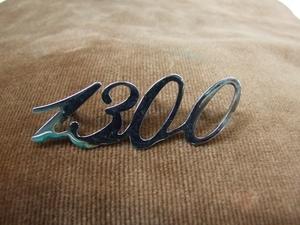 アルファロメオ ジュリア 純正1300金属性エンブレム 新品