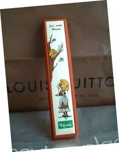 ◆ 昭和 レトロ 廃盤 ペンケース 筆箱 女子向け ベニス製 日本製 スリム 仕様 置き古し 新品 文房具 JUNK 1970年代