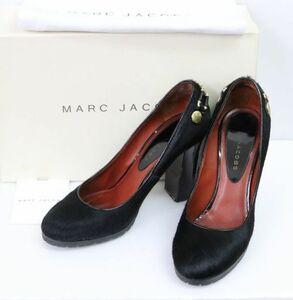 MARC JACOBS マークジェイコブス MJ7088 ハラコ ヒール パンプス size36