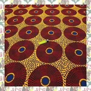 【SALE】アフリカンプリント生地 布 180cmx110cm(2ヤード) アフリカ布 アフリカ生地 アフリカ バティック ハンドメイド素材 barg-a090