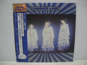 カ Candy's / Candy's Live / Band LP Record ◇