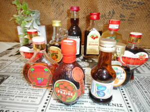 アンティークコレクション 古酒 リキュール各種10本 ⑪ フルーツ 長期保管品