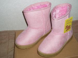 ★ふわふわ もこもこ ブーツ ピンク 20cm★