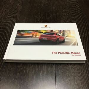 【即決】【厚口ハードカバー】マカン 前期 2016年 7月 諸元表 ポルシェ カタログ Porsche Macan