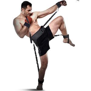 ワークアウトバンドボクシング耐久 牽引ロープ クロスフィットゴムバンド トレーニングレジスタンスロープ k570