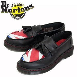 正規 Dr.Martens (ドクターマーチン) 25270001 ADRIAN WHO ザ・フー エイドリアン タッセル ローファー レザーシューズ BLACK UK4-約23.0cm