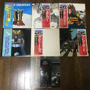 レコード LP 7つセット ビートルズ、ポール・マッカートニー、ジョン・レノン