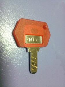 Pachislot genuine door key NT1 1